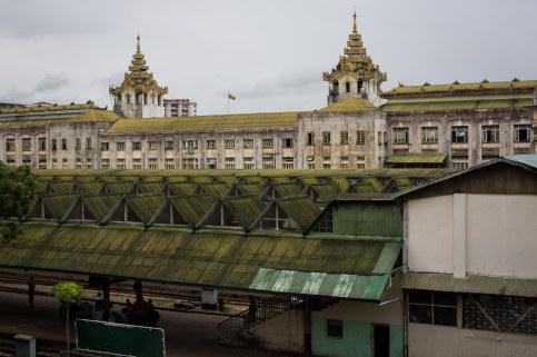 Gare centrale de Yangon