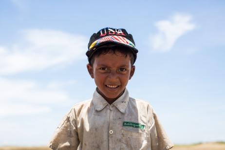 Enfant Rohingya