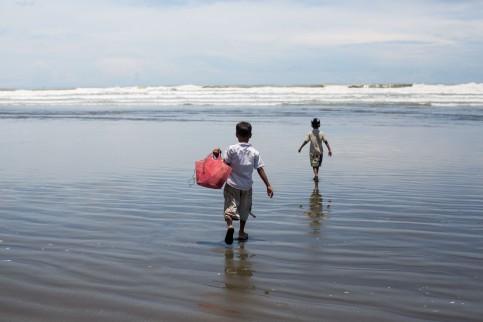 Enfants Rohingya
