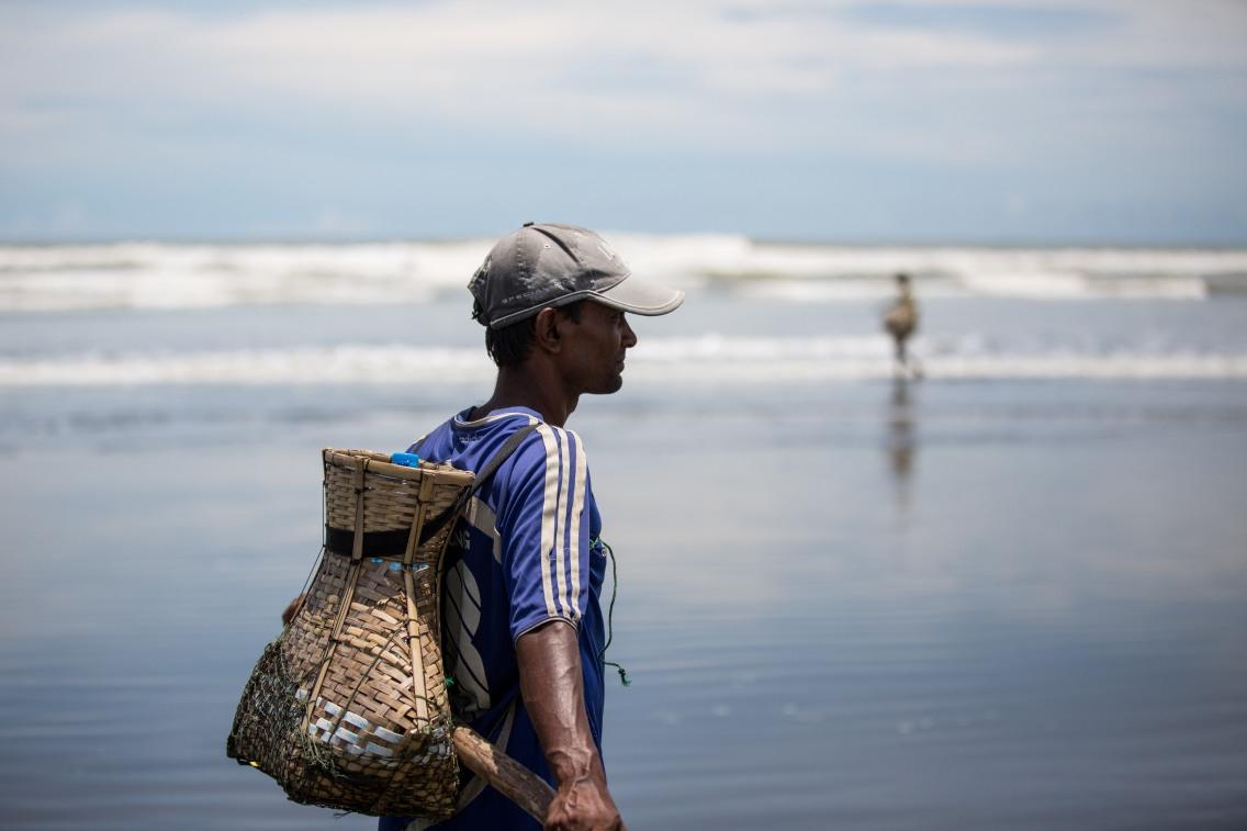 Pêcheur Rohingya