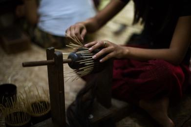Artisant de lacques, New Bagan