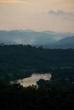 Coucher de soleil à Hsipaw, Shan State