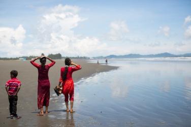 Famille Rohingya
