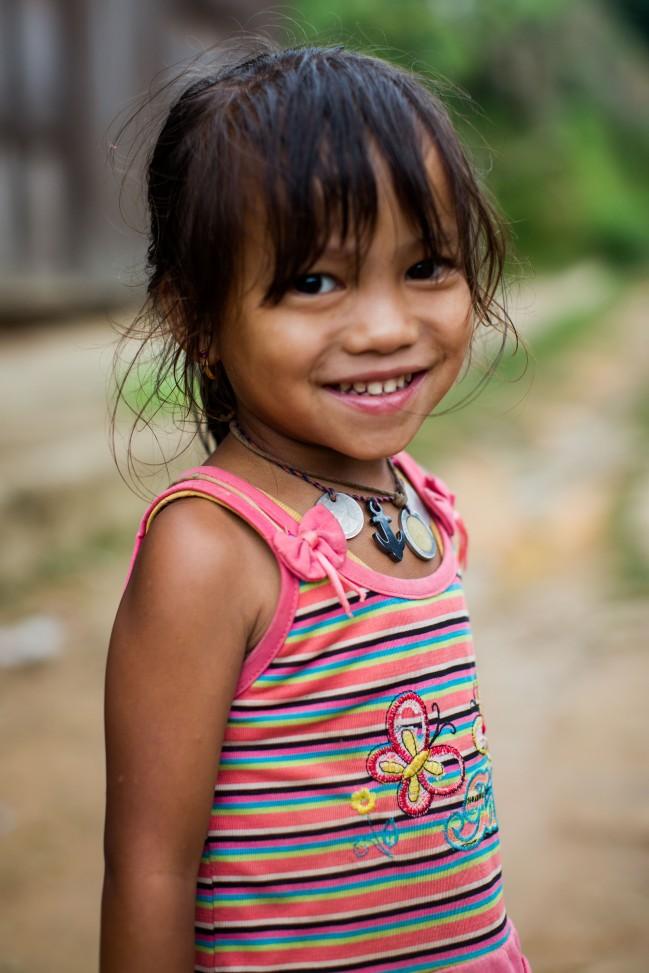 Jeune fille palaung, Tan San, Shan State