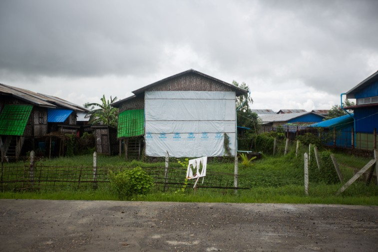 Camp à Sittwe