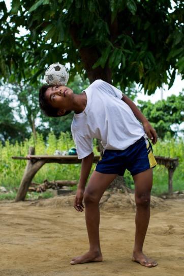 Entrainement de chinlone, Amarapura