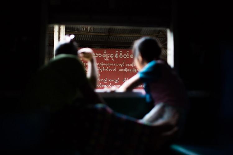 Train Mandalay - Myitkyina