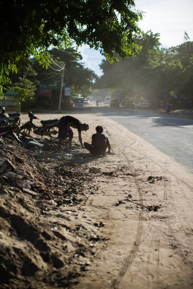 Ouvrier à Mogwe