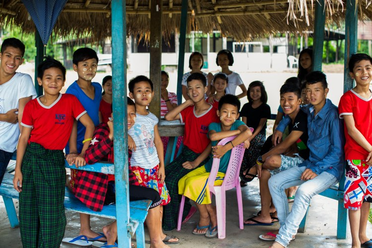 Learning Centre à Myitkyina, Kachin State