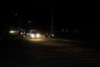 Coupures de courant à Mogwe