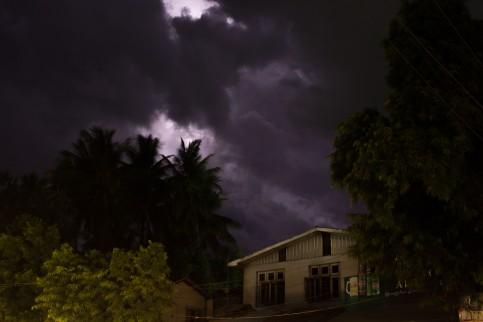 Orages du soir à Mogwe