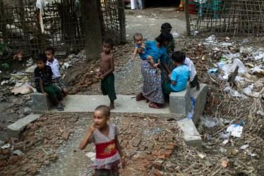 Village, Rakhine State