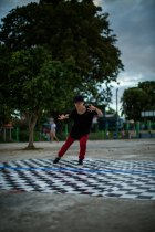 Break dance, Myitkyina, Kachin State