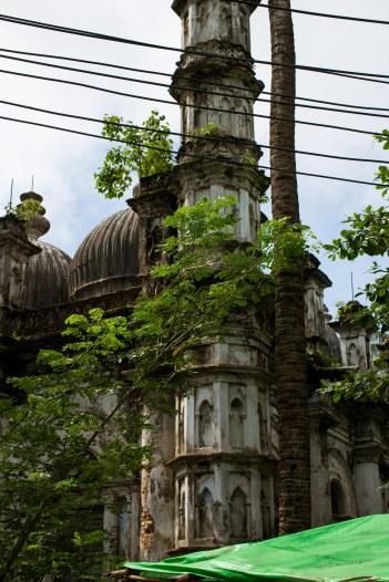 Mosquée abandonnée à Sittwe